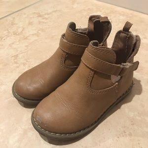 Toddler girls ankle booties